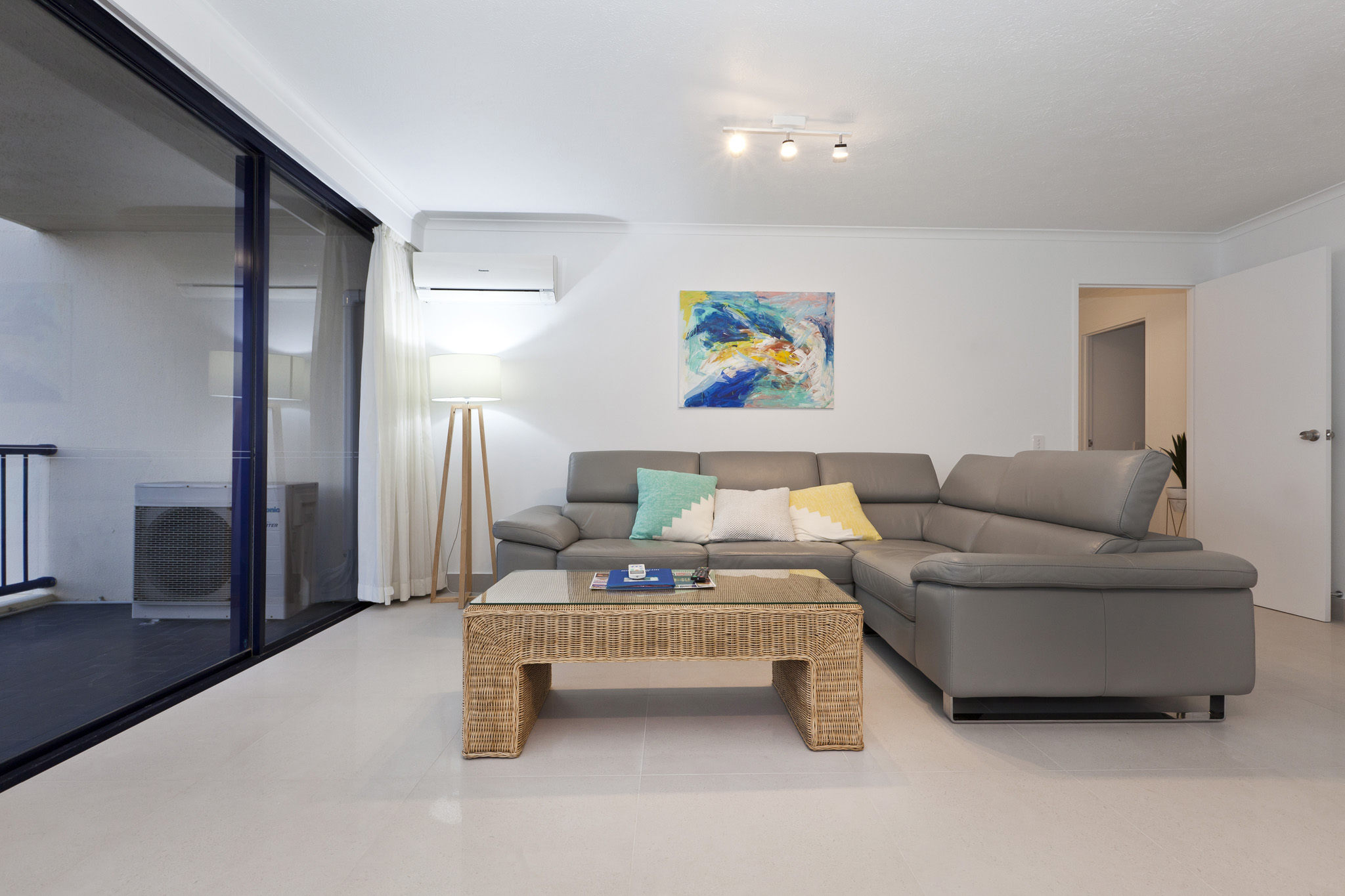 Surf Regency Holiday Apartments Living Area
