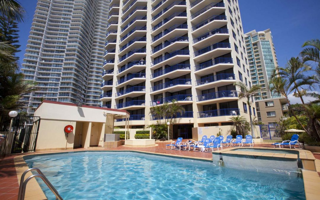 Surf Regency Holiday Apartments Swimming Pool