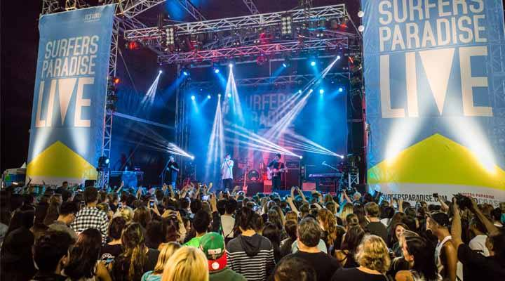 Surfers Paradise LIVE Brings Free Live Music this May